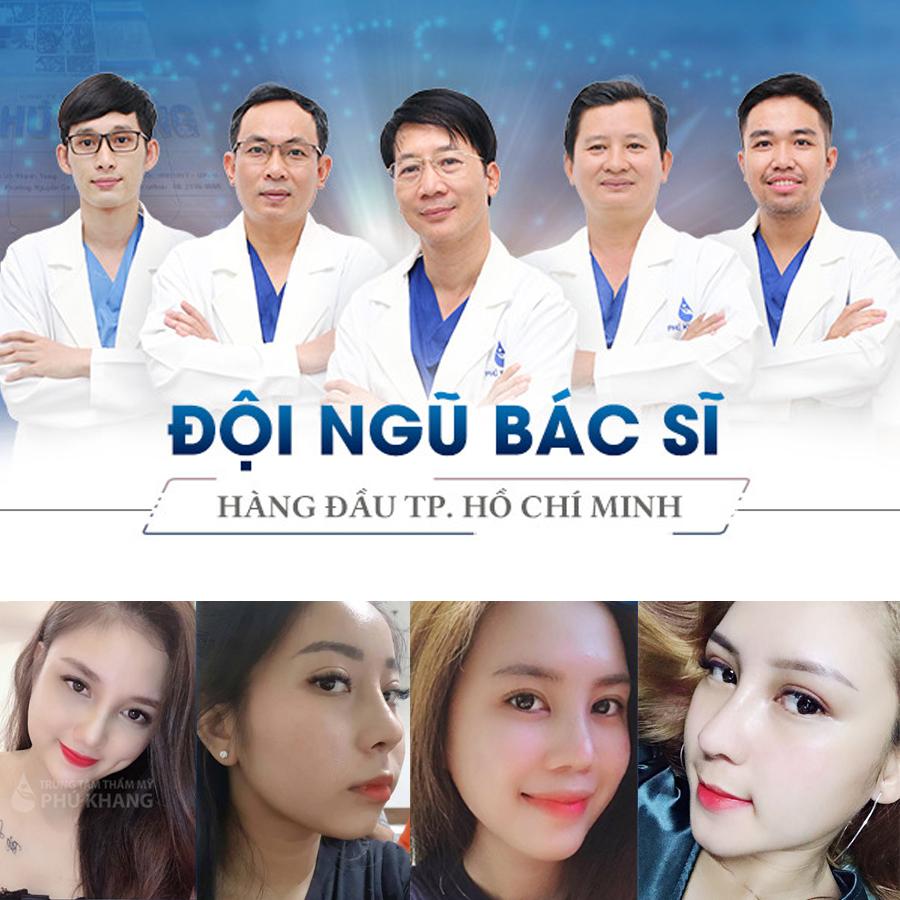 Đội ngũ bác sĩ hàng đầu tphcm