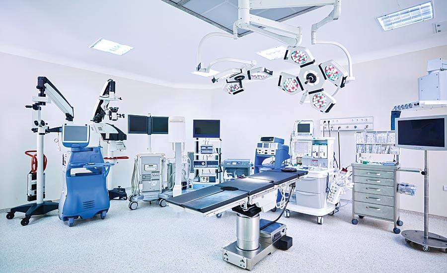 phòng phẫu thuật thẩm mỹ vô trùng