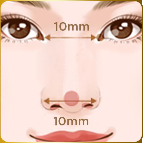 Chiều rộng cánh mũi