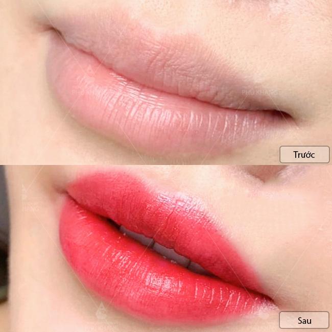 xăm môi đẹp