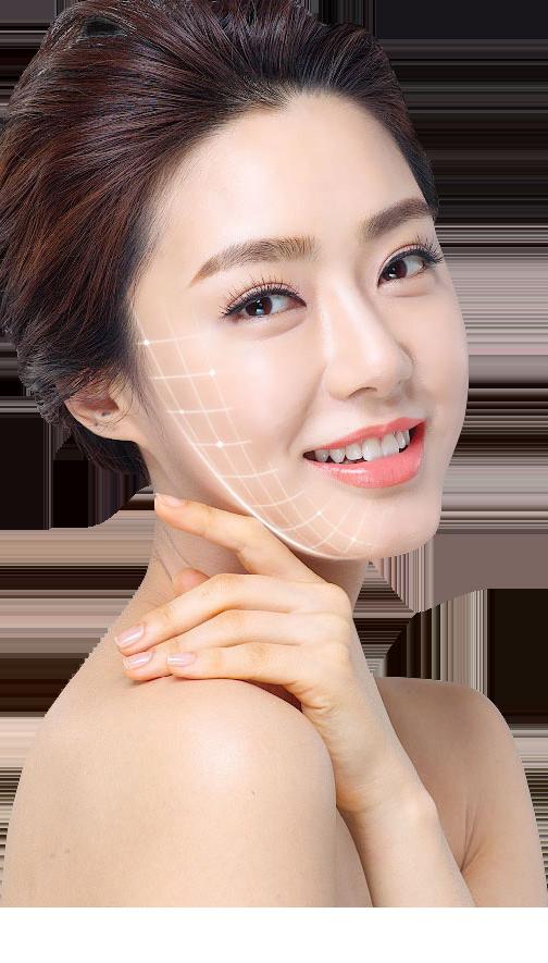 khuyết điểm căng da mặt