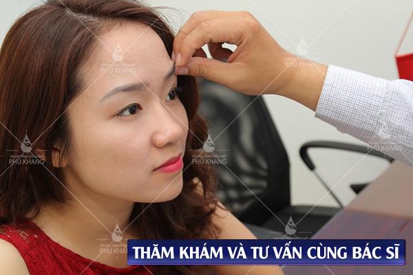kiểm tra trước sức khỏe trước khi thực hiện chỉnh sửa cắt mí mắt hỏng