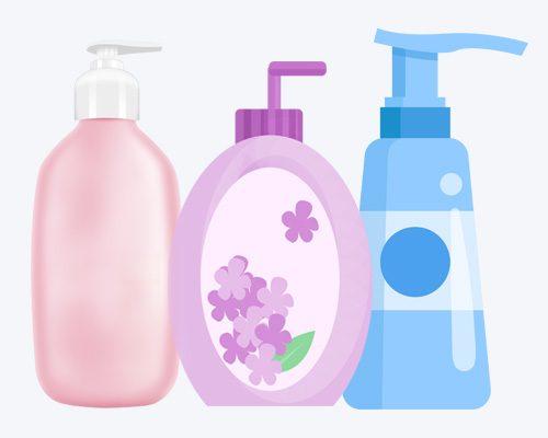hạn chế sử dụng sữa tắm có chất tẩy mạnh làm hồng nhũ hoa